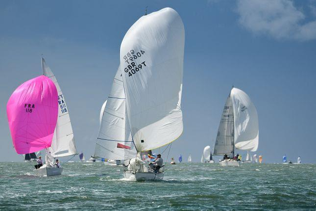 Ziggy in IRC 7 on Cowes Week 2019 day 7 - photo © Paul Wyeth / CWL