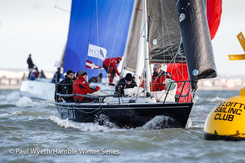 All set for the HYS Hamble Winter Series 2020 - photo © Paul Wyeth / www.pwpictures.com