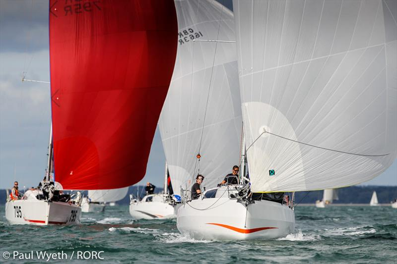 Dee Caffari was sailing on the Sun Fast 3300 Gentoo with James Harayda and won the first of today's two races on day 2 of the RORC IRC National Championships - photo © Paul Wyeth / pwpictures.com