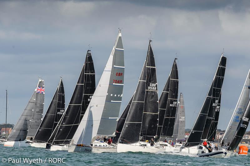 Strong competition on the first of the two day IRC Two-Handed National Championship regatta on day 2 of the RORC IRC National Championships - photo © Paul Wyeth / pwpictures.com