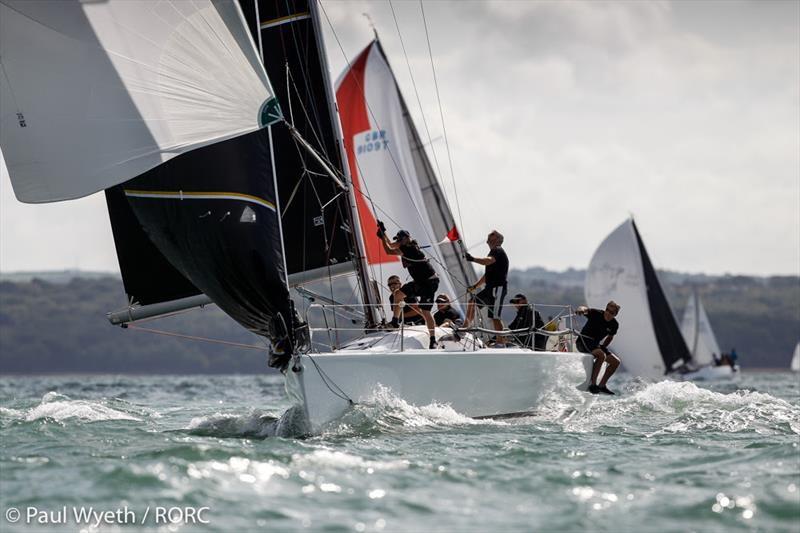 John Howell & Paul Newell's A35 Arcus continued her winning streak on day 2 of the RORC IRC National Championships - photo © Paul Wyeth / pwpictures.com