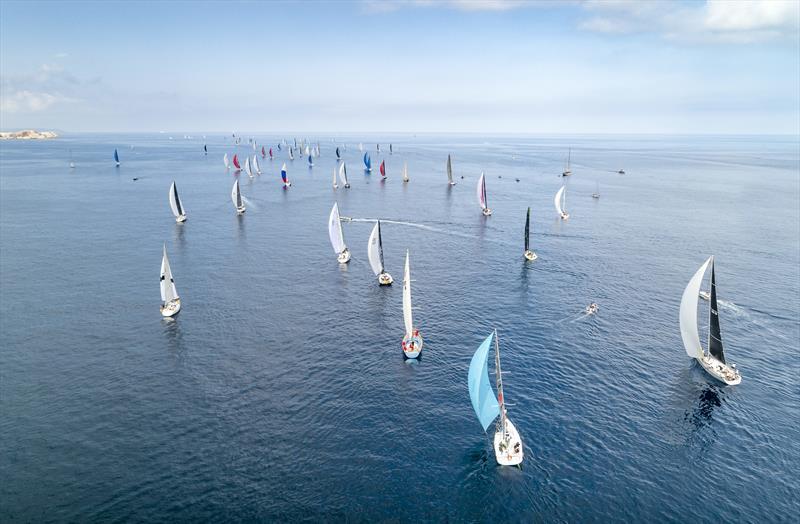 Start of the Rolex Middle Sea Race 2019 - photo © Rolex / Kurt Arrigo