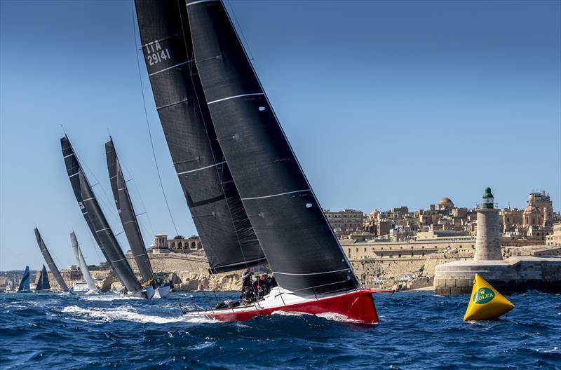 La Rolex Middle Sea Race 2020 en cours