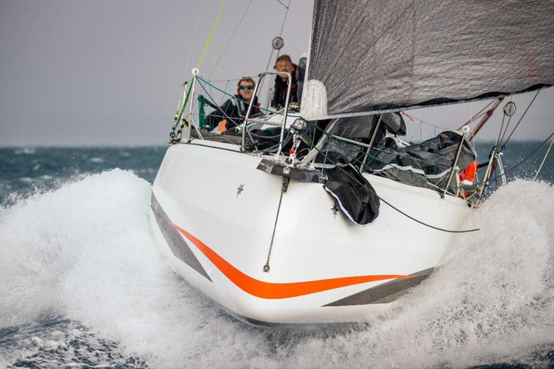 Sebastien Saulnier's Sun Fast 3300 Moshimoshi during the RORC Transatlantic Race - photo © James Mitchell / RORC