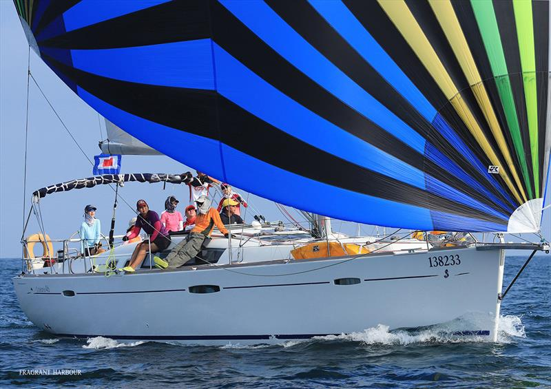 Jibulai 2nd in Crew Helm and Ladies Helm races - Bart's Bash Regatta 2019 - photo © Fragrant Harbour