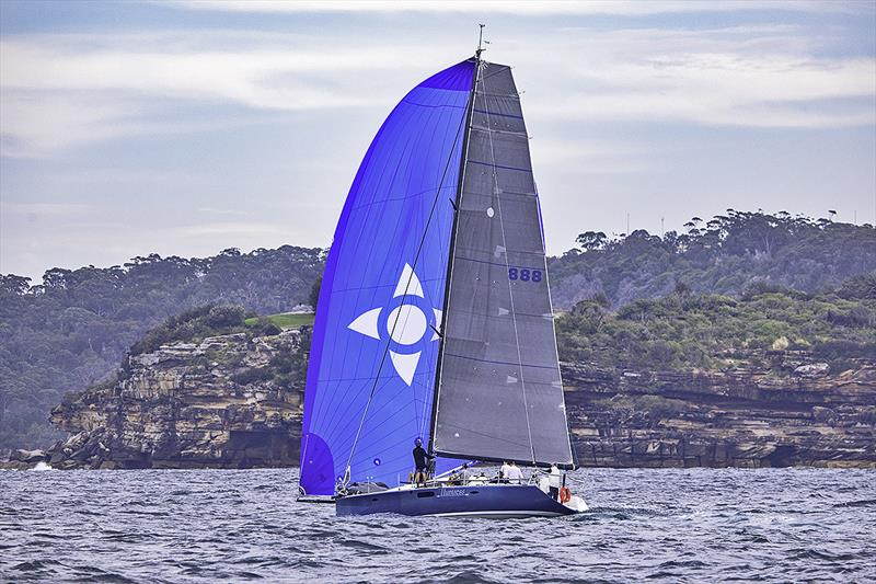 Huntress sailing in Sydney Harbour; Philip Grove is an advocate for MySail, having used it to find many of his race crew.  - photo © Benjamin Williams