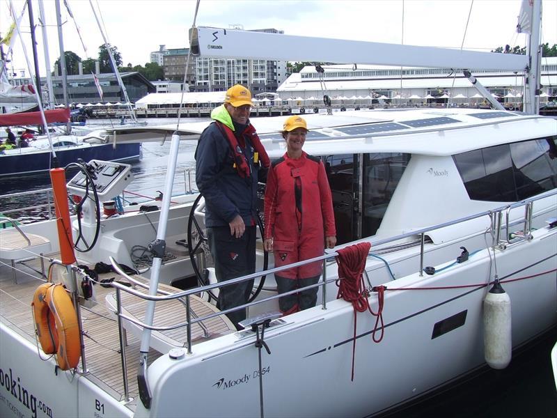 Grant Dunoon and Sue Bumstead on Blue Water Tracks - Sundance Marine Melbourne Osaka Double Handed Yacht Race 2018 - photo © Ian MacWilliams