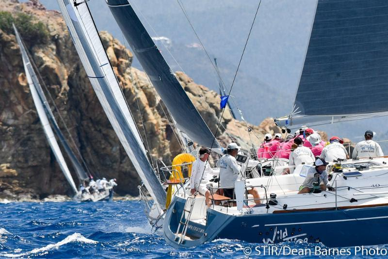 2018 St. Thomas International Regatta - Day 3 photo copyright STIR / Dean Barnes taken at St. Thomas Yacht Club and featuring the IRC class