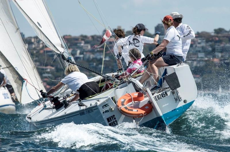 Inaugural Women's Regatta at Middle Harbour Yacht Club - photo © Marg Fraser-Martin