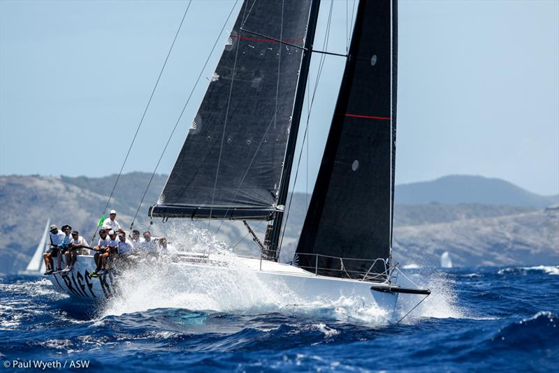 Antigua Sailing Week- Brian McMaster's Riff Raff, Cookson 50 placed 3rd in CSA 1 - photo © Paul Wyeth