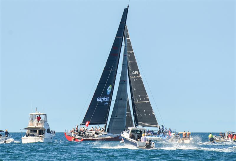 Groupama cross tacks for Miss Scarlet and Patrice - 2018 New Caledonia Groupama Race - photo © Groupama Race