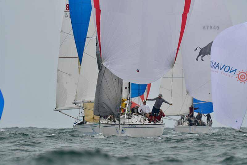 2018 Ullman Sails Long Beach Race Week - Day 2 photo copyright Tom Walker taken at Long Beach Yacht Club and featuring the IRC class