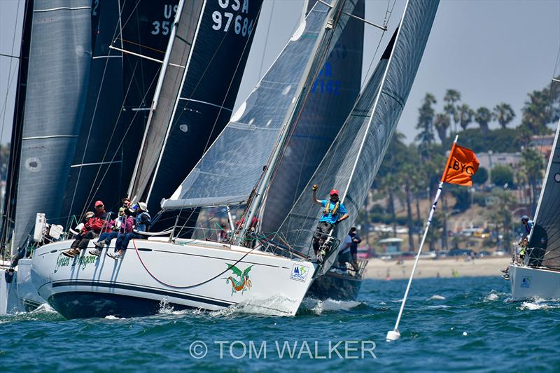 2018 Ullman Sails Long Beach Race Week - Day 3 photo copyright Tom Walker taken at Long Beach Yacht Club and featuring the IRC class