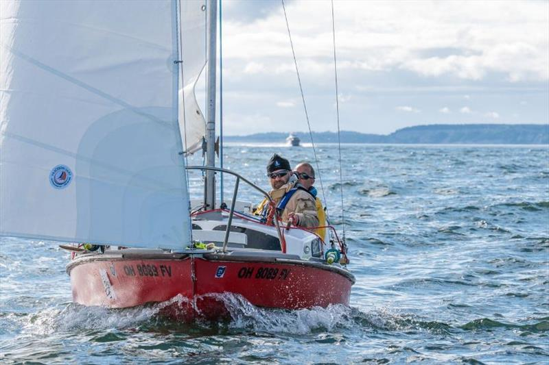 Team Buckeye in 17 foot Sihoutte MK-III - Race to Alaska 2018 - photo © Katrina Zoe Norbom / racetoalaska.com