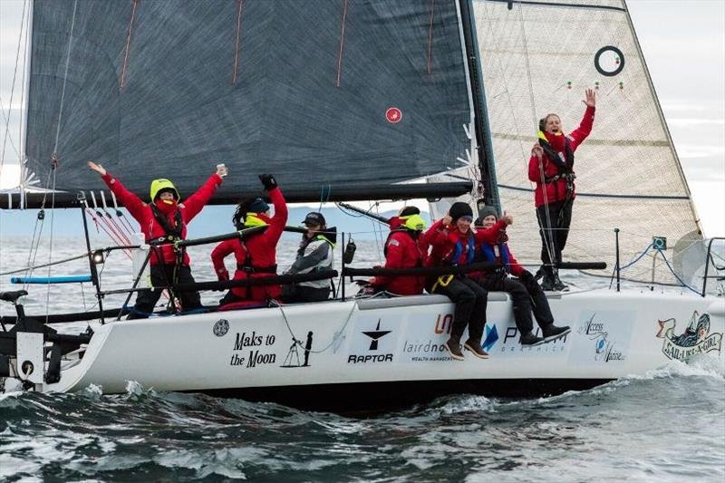 Team Sail Like A Girl wins Race to Alaska 2018 - photo © Katrina Zoe Norbom / racetoalaska.com