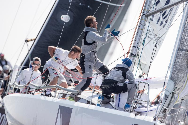Immac Fram needs just one more good race to earn Class C Bronze - Hague Offshore Sailing World Championship 2018 - photo © Sander van der Borch