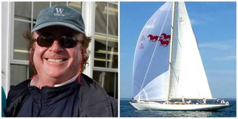 Donald Tofias will sail his 76' W-Class Yacht in the 2018 Edgartown Race Weekend, which includes the 80-year-old 'Round-the-Island Race on Saturday, July 21 - photo © Edgartown Yacht Club