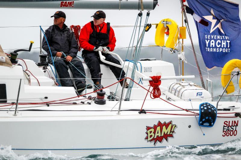 Conor Fogerty and Simon Knowles of Howth Yacht Club in their Sun Fast 3600 - photo © Paul Wyeth / RORC