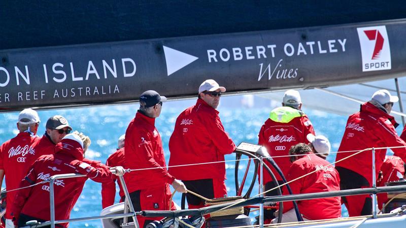Mark Richards - skipper Wild Oats XI - Hamilton Island Race Week - Day 2 - photo © Richard Gladwell