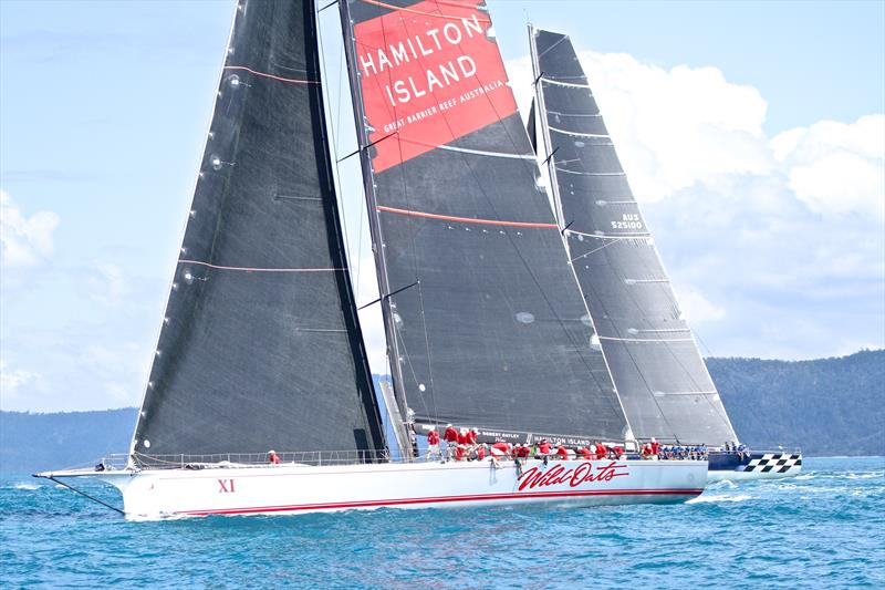 The two supermaxis - Hamilton Island Race Week - Day 6 - August, 26 2018 - photo © Richard Gladwell
