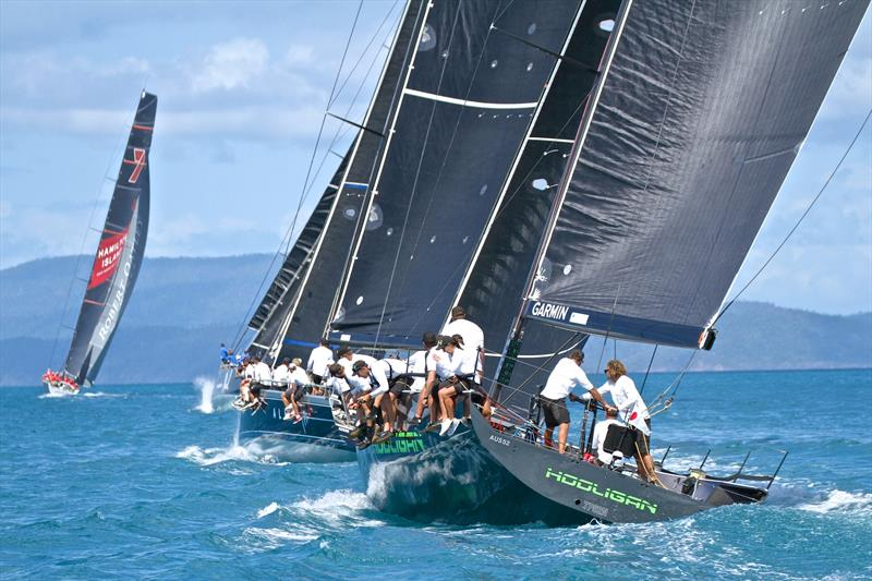 All chasing Wild Oats XI - Hamilton Island Race Week - Day 6 - photo © Richard Gladwell
