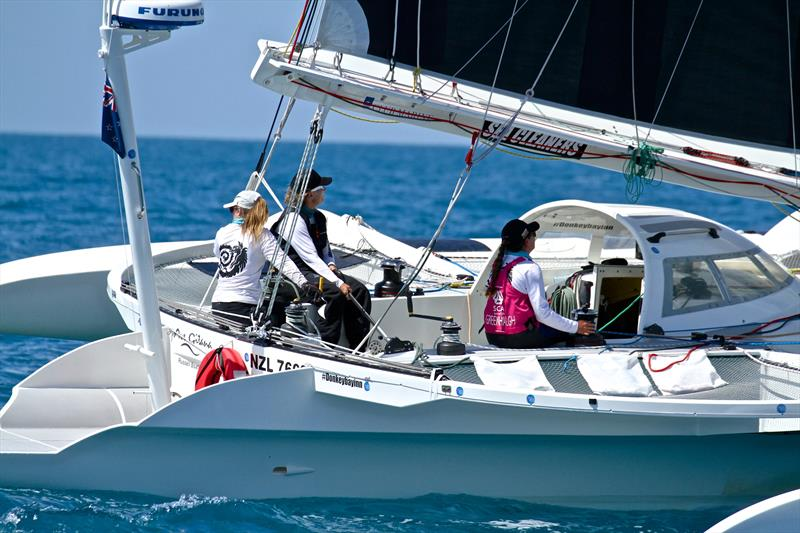 Sharon Ferris-Choat and the all women crew on Ave Gitana - Hamilton Island Race Week - Day 6 - photo © Richard Gladwell