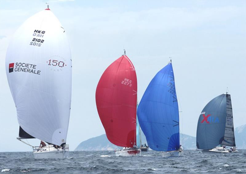 Whiskey Jack approaches Port Shelter mark (UK Sailmakers Typhoon Series , Race 8) - photo © Event Media
