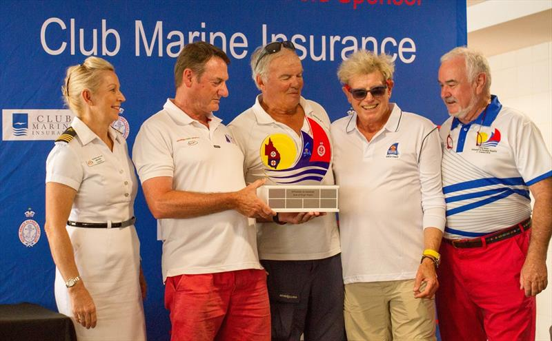 2017 P2P State trophy to NSW - photo © Brendan Rourke the magician@me.com