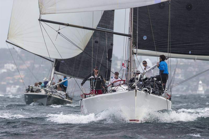 Conspiracy, Peter Byford & David Hudson's Sydney 38 will be aiming to return serve on Jack Stening's Stormaway in IRC Division 2 at this year's SSORC. - photo © Andrea Francolini