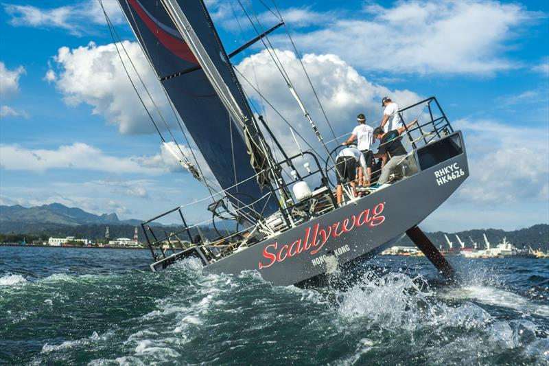 Sailing again - Sea trialing Scallywag 100- Team Scallywag reassembles after refit in Hong Kong, September 2018 - photo © Team Scallywag