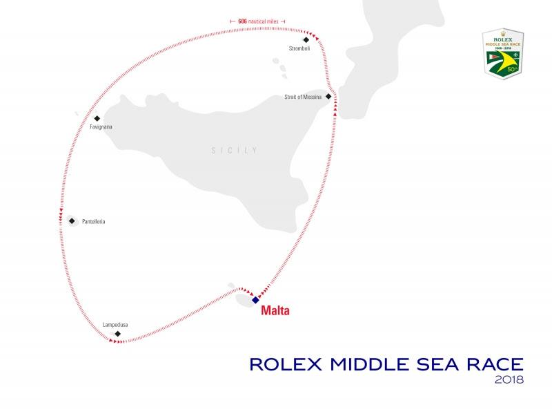 Rolex Middle Sea Race - photo © Rolex