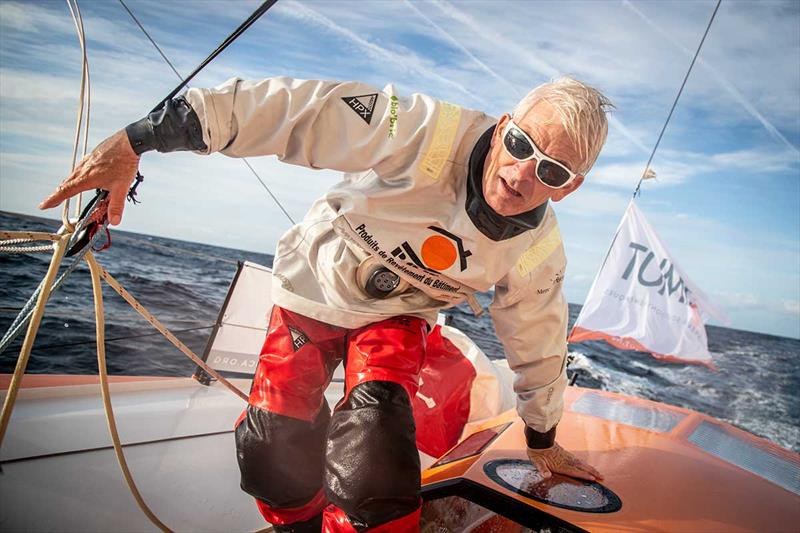 Vincent Riou on PRB - Route du Rhum-Destination Guadeloupe - photo © Eloi Stichelbaut