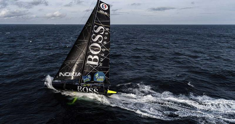 Alex Thomson on Hugo Boss - Route du Rhum-Destination Guadeloupe - photo © Alex Thomson Racing