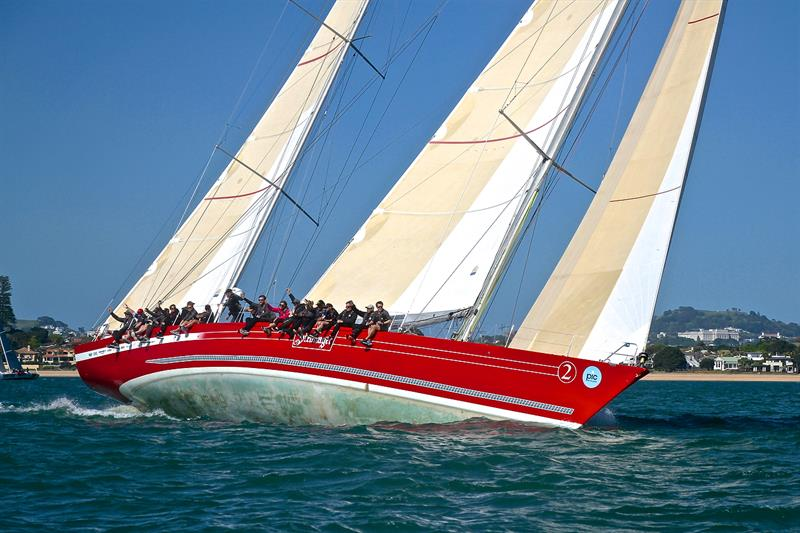 Steinlager 2 - Start - PIC Coastal Classic - October 19, - photo © Richard Gladwell