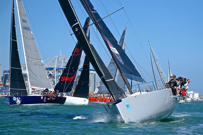 50fters- Start - PIC Coastal Classic - October 19, photo copyright Richard Gladwell taken at  and featuring the IRC class