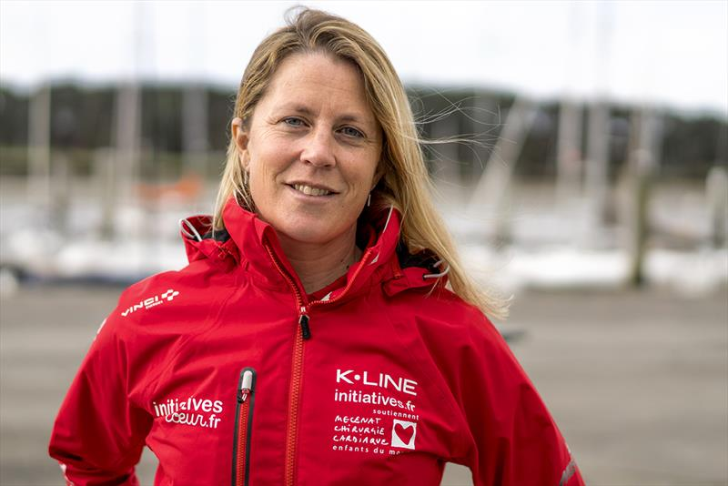 Sam Davies will compete in the IMOCA class on board Initiatives Coeur - 2018 Route du Rhum-Destination Guadeloupe - photo © Initiatives Coeur