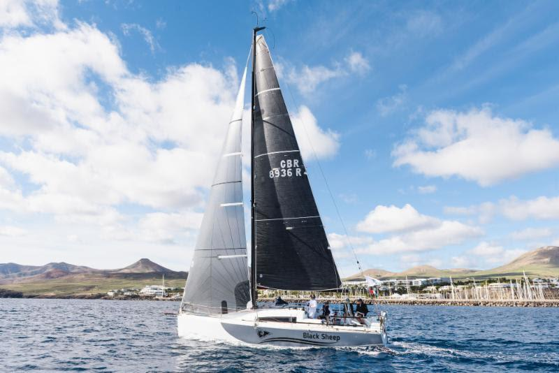 Day 3 - Having a good race in IRC, Trevor Middleton's British Sun Fast 3600 Black Sheep - 2018 RORC Transatlantic Race - photo © RORC