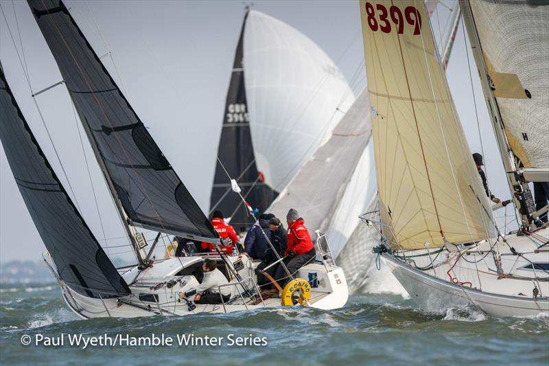 J'Ronimo in week 7 of the HYS Hamble Winter Series - photo © Paul Wyeth / www.pwpictures.com