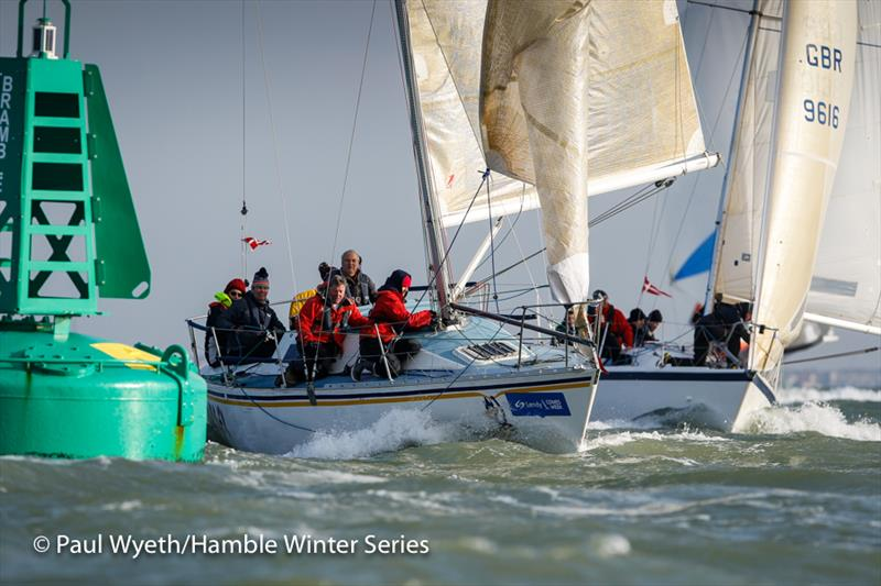 Hooligan in week 7 of the HYS Hamble Winter Series - photo © Paul Wyeth / www.pwpictures.com