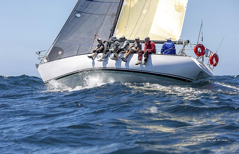 Michael Spies' S&S 39 Mark Twain on her first race offshore under Spies' ownership. - photo © Crosbie Lorimer