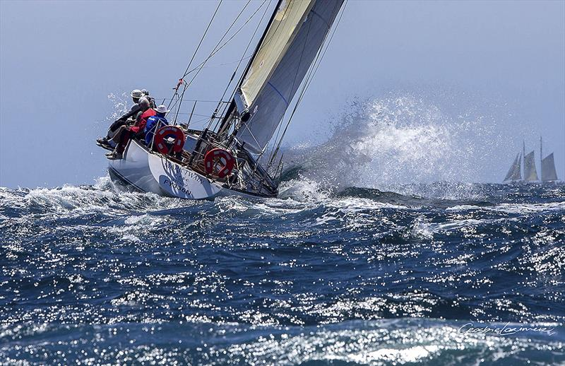 Michael Spies' S&S 39 Mark Twain heads offshore in the CYCA Trophy Series first race - photo © Crosbie Lorimer