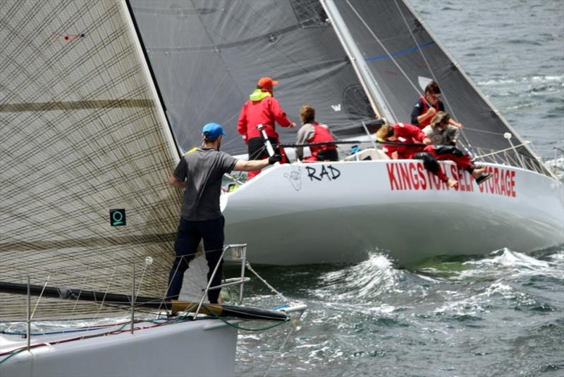Start of Combined Clubs Inshore Series Inshore Series race on the Derwent today. - photo © Peter Watson
