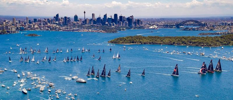Start 2018 Rolex Sydney Hobart Yacht Race - photo © Rolex / Studio Borlenghi