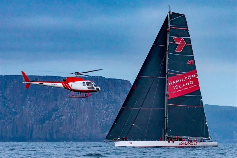 Wild Oats XI - Finish 2018 Rolex Sydney Hobart Race - photo © Rolex