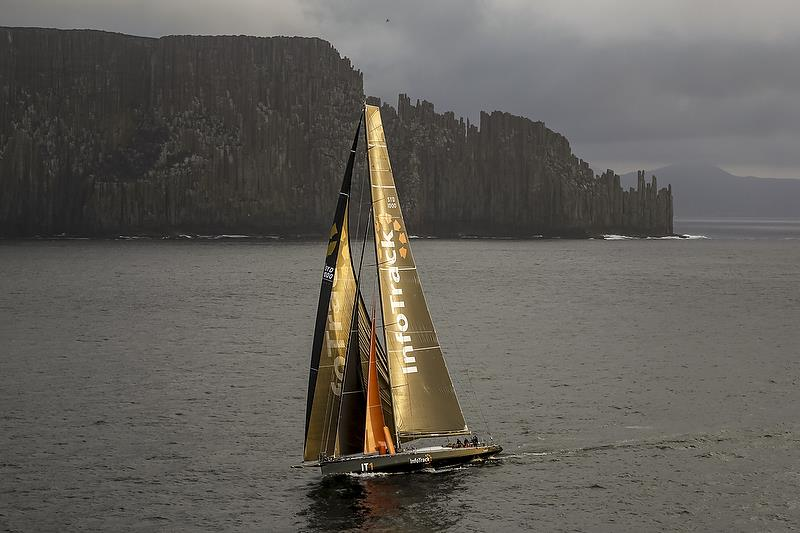 INFOTRACK, Bow: IT1, Sail n: SYD1000, Owner: Christian Beck, State / Nation: NSW, Design: Juan K 100 Custom - photo © Rolex / Studio Borlenghi