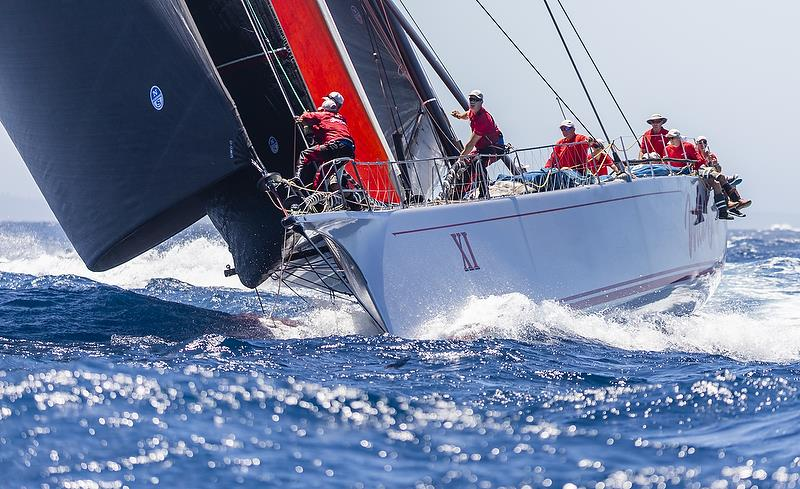 WILD OATS XI, Bow: XI, Sail n: AUS10001, Owner: The Oatley Family, State / Nation: NSW, Design: Reichel Pugh 30m - photo © Rolex / Studio Borlenghi