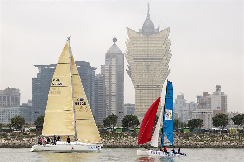 Macau Cup and Greater Bay Cup 2019. Parade of Sail. - photo © Guy Nowell