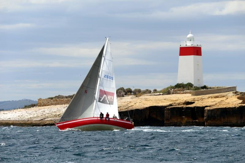 Veteran yacht Natelle Two won IRC and PHS in Division 2 of the Combined Club Summer Pennant Race on the River Derwent - photo © Peter Watson
