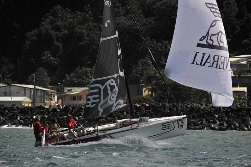 Racing around Martinique - photo © Image courtesy of the Round Martinique Regatta