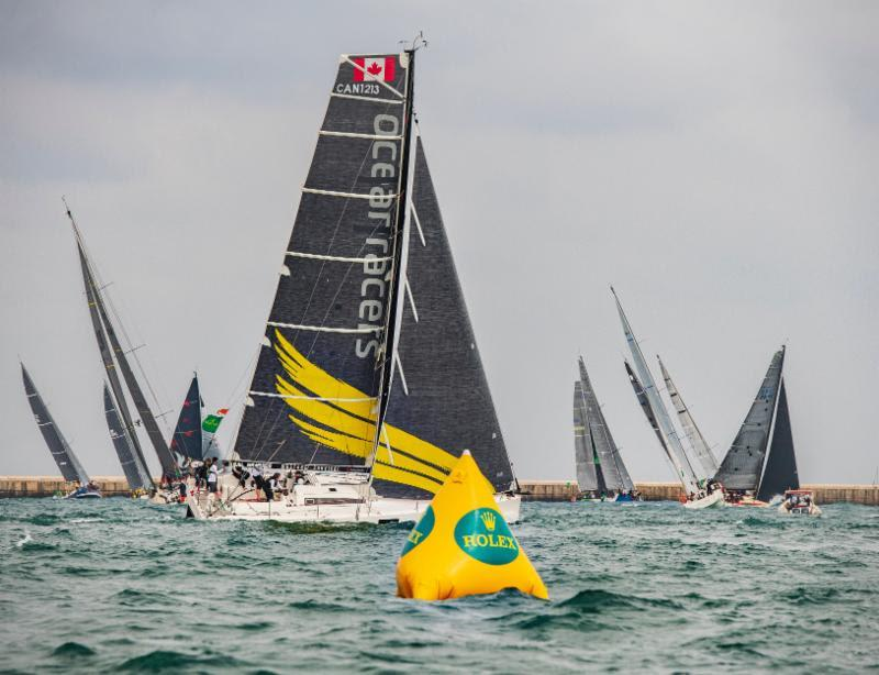 Ocean Racers provides sailing adventures worldwide and Morgen Watson and Meg Reilly's Canadian Pogo 12.5, Hermes will compete for the first time with a charter team from Poland, USA and Canada - BVI Spring Regatta & Sailing Festival - photo © Rolex / Kurt Arrigo